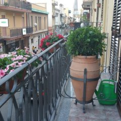 Отель B&B SeleneBeach Джардини Наксос балкон