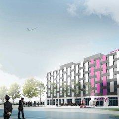 Отель Moxy Vienna Airport спортивное сооружение