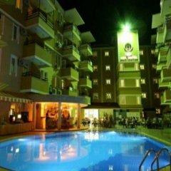 Kleopatra Aydin Hotel Турция, Аланья - 2 отзыва об отеле, цены и фото номеров - забронировать отель Kleopatra Aydin Hotel онлайн бассейн