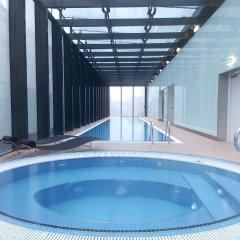 Отель Hilton Manchester Deansgate Манчестер бассейн фото 2