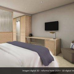 Отель AluaSoul Palma - Adults Only Испания, Пальма-де-Майорка - отзывы, цены и фото номеров - забронировать отель AluaSoul Palma - Adults Only онлайн комната для гостей фото 2