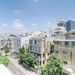 Pinsker St. Studios - by Comfort Zone TLV Израиль, Тель-Авив - отзывы, цены и фото номеров - забронировать отель Pinsker St. Studios - by Comfort Zone TLV онлайн балкон