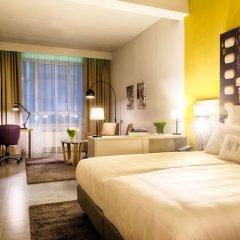 Отель NYX Hotel Milan by Leonardo Hotels Италия, Милан - 1 отзыв об отеле, цены и фото номеров - забронировать отель NYX Hotel Milan by Leonardo Hotels онлайн комната для гостей фото 3