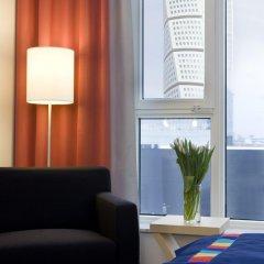 Отель Park Inn by Radisson Malmö Швеция, Мальме - 3 отзыва об отеле, цены и фото номеров - забронировать отель Park Inn by Radisson Malmö онлайн комната для гостей фото 5