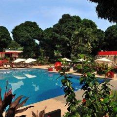 Отель Pullman Kinshasa Grand Hotel Республика Конго, Киншаса - отзывы, цены и фото номеров - забронировать отель Pullman Kinshasa Grand Hotel онлайн бассейн фото 2