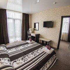 Гостиница Акварель Family комната для гостей фото 3