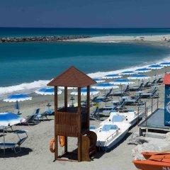 Отель Grand Hotel La Tonnara Италия, Амантея - отзывы, цены и фото номеров - забронировать отель Grand Hotel La Tonnara онлайн пляж фото 2