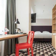 AZIMUT Отель Смоленская Москва 4* Номер SMART Standard с двуспальной кроватью фото 4