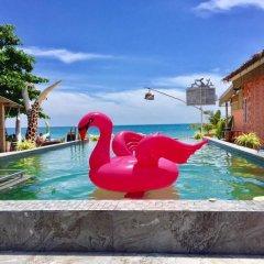 Отель Cha-Ba Bungalow & Art Gallery Таиланд, Ланта - отзывы, цены и фото номеров - забронировать отель Cha-Ba Bungalow & Art Gallery онлайн бассейн фото 3