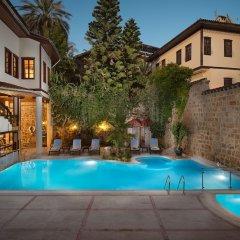 Dogan Hotel by Prana Hotels & Resorts Турция, Анталья - 4 отзыва об отеле, цены и фото номеров - забронировать отель Dogan Hotel by Prana Hotels & Resorts онлайн бассейн фото 3