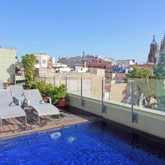 Апартаменты Catedral Bas Apartments Барселона бассейн