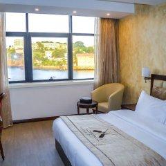Отель Mamba Point Hotel Freetown Сьерра-Леоне, Фритаун - отзывы, цены и фото номеров - забронировать отель Mamba Point Hotel Freetown онлайн комната для гостей фото 3