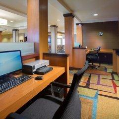 Отель Fairfield Inn & Suites by Marriott Columbus OSU США, Колумбус - отзывы, цены и фото номеров - забронировать отель Fairfield Inn & Suites by Marriott Columbus OSU онлайн интерьер отеля фото 3