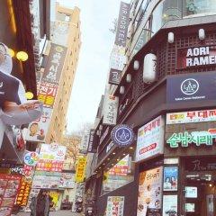 Air Hostel Myeongdong Сеул городской автобус