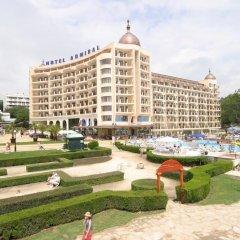 Отель Admiral Болгария, Золотые пески - отзывы, цены и фото номеров - забронировать отель Admiral онлайн пляж фото 2