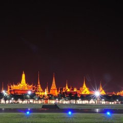 Отель Bangkok Bed And Bike Бангкок приотельная территория