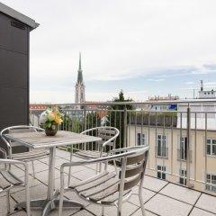 Апартаменты Rafael Kaiser Premium Apartments балкон