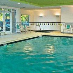 Отель Fairfield Inn And Suites By Marriott Lake City Лейк-Сити фитнесс-зал