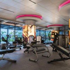 Отель Pan Pacific Singapore фитнесс-зал