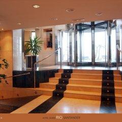 Отель Silken Rio Santander Испания, Сантандер - отзывы, цены и фото номеров - забронировать отель Silken Rio Santander онлайн интерьер отеля фото 2