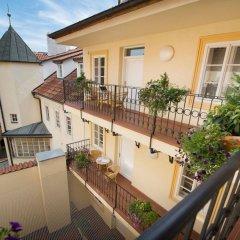 Отель Boutique Hotel Constans Prague Чехия, Прага - - забронировать отель Boutique Hotel Constans Prague, цены и фото номеров балкон