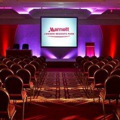 London Marriott Hotel Regents Park развлечения