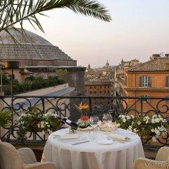 Grand Hotel De La Minerve питание