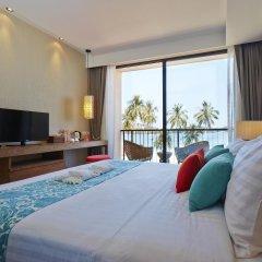 Отель Bandara Phuket Beach Resort 4* Улучшенный номер с различными типами кроватей фото 2