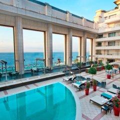 Отель Hyatt Regency Nice Palais De La Mediterranee Ницца бассейн фото 2