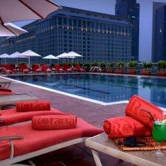 Отель Rose Rayhaan by Rotana бассейн фото 3