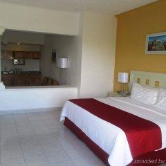 Отель Holiday Inn Cancun Arenas Мексика, Канкун - отзывы, цены и фото номеров - забронировать отель Holiday Inn Cancun Arenas онлайн комната для гостей фото 5