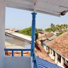 Отель Pedlar 62 Шри-Ланка, Галле - отзывы, цены и фото номеров - забронировать отель Pedlar 62 онлайн балкон