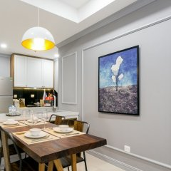 Апартаменты Henry Studio Luxury 2BR SWPool 17th в номере
