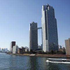 Отель Ginza Creston Токио приотельная территория