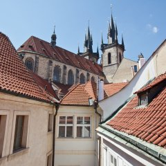 Апартаменты Cathedral Prague Apartments балкон
