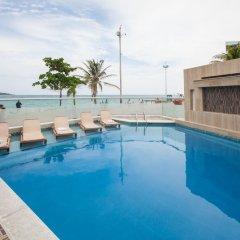 Отель Bahía Sardina Колумбия, Сан-Андрес - отзывы, цены и фото номеров - забронировать отель Bahía Sardina онлайн бассейн фото 3