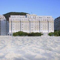 Отель Belmond Copacabana Palace пляж