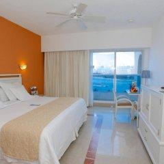 Отель Occidental Costa Cancún All Inclusive Мексика, Канкун - 12 отзывов об отеле, цены и фото номеров - забронировать отель Occidental Costa Cancún All Inclusive онлайн комната для гостей фото 2