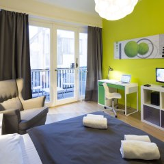 Отель New Town - Apple Apartments Чехия, Прага - 1 отзыв об отеле, цены и фото номеров - забронировать отель New Town - Apple Apartments онлайн комната для гостей