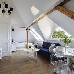 Апартаменты RJ Apartments Westerplatte Сопот комната для гостей