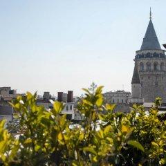 Апартаменты 3 Bedrooms Apartment w Sea View and Terrace Стамбул балкон