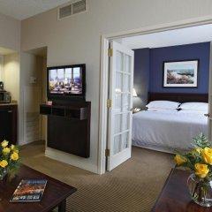 Отель Sheraton Suites Columbus США, Колумбус - отзывы, цены и фото номеров - забронировать отель Sheraton Suites Columbus онлайн комната для гостей фото 4