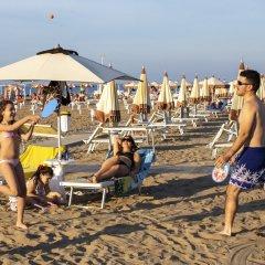 Hotel Holland Римини пляж фото 2
