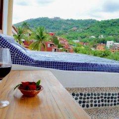 Отель Bungalows La Madera Мексика, Сиуатанехо - отзывы, цены и фото номеров - забронировать отель Bungalows La Madera онлайн ванная фото 2