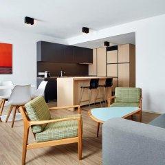 Отель Hilton Garden Inn Brussels City Centre гостиничный бар