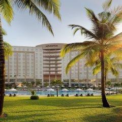 Movenpick Ambassador Hotel Accra пляж