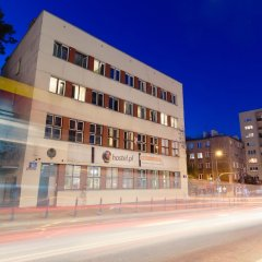 Tatamka Hostel Варшава вид на фасад