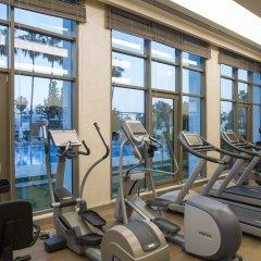 Отель Barut Acanthus & Cennet - All Inclusive фитнесс-зал фото 3