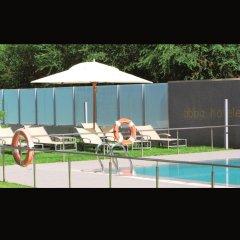 Отель Abba Huesca Уэска бассейн