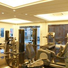 Отель LK President фитнесс-зал